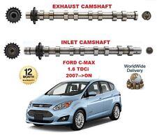 Para Ford C-Max 1.6 Tdci 2007>en Adelante Nuevo Admisión & Escape