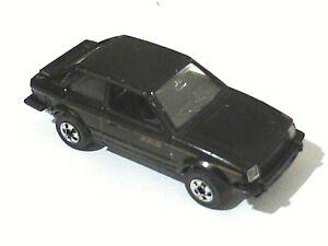 Voiture Miniature HOT WHEELS France FORD ESCORT XR3 1/60 Vintage Model Car