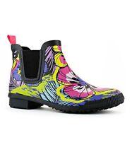 Cougar Womens Regent Floral Rain Boots Shoes 7 Medium