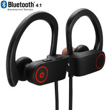 New Bluetooth Wireless Headphones Headset Ear Beats Design Waterproof Stereo Set