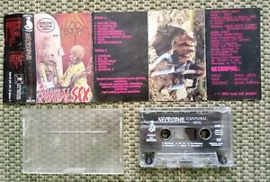 Necrophil - Cannibal Sex Tape Cassette LOUD OUT Vader Napalm Death Deicide Sodom