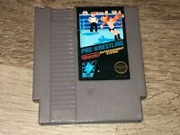 Pro Wrestling Nintendo Nes Cleaned & Tested Authentic
