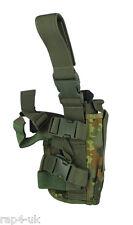 Pistolet holster main gauche grand (allemand flecktarn) pour TiPX, Tiberius 8 [DC4]