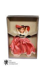 "Rare Theta Chi Doll Spring Formal 1949 Silk Sun Dressed Girl Original Box 8"""