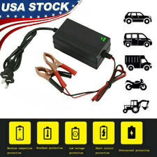 Auto Car Motorcycle ATV DC 12V Universal Portable Rechargeable Battery Charger