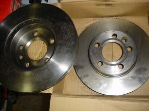 vw transporter T4 front brake discs Unipart GBD1152 280mm