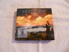 "Uriah Heep  ""Celebration & Live at sweden rock"" Cd & DVD box 2009 Digipack New $"