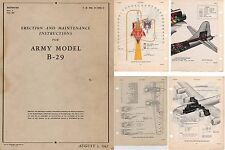 Boeing B-29 Superfortress 1940's WW2 Maintenance Service Manual Rare archive