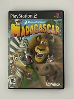 Madagascar - Playstation 2 PS2 Game - Tested