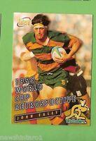 1996 RUGBY UNION  CARD #90 JOHN EALES, WALLABIES