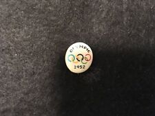 1952 OSLO OLYMPIC PIN BADGE RARE PLASTIC PINS