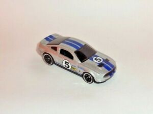 HOT WHEELS Loose SPEED MACHINES '07 Shelby GT500 (Silver)