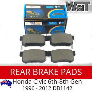 HONDA Civic Rear Brake Pads For 6th-8th Gen 1996 - 2012 DB1142