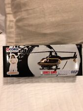 CORGI JAMES BOND COLLECTION 007 STROMBERG HELICOPTER & NAOMI FIGURE SET