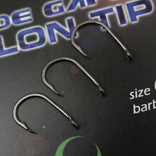 Gardner WIDE GAPE TALON TIP CARP FISHING HOOKS Packet of 10 - BARBLESS SIZE 8