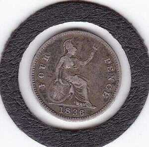 1836   King  William  IV    Four  Pence  /  Groat   (4d)  Coin  (92.5% Silver)