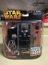 Star Wars Hasbro Darth Vader Rebuild Darth Vader deluxe figure episode III ROTS