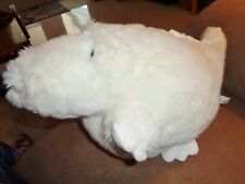 Alligator Crocodile Fat White blue eyes Unipak stuffed plush albino