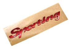 Fiat Punto Panda Seicento Cinquecento Sporting badge Emblem 46523777 Genuine
