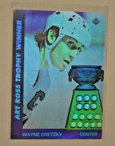 Upper Deck NHL LNH Eishockey 1991/1992/AW1 Hologramm Karte Wayne Gretzky Center