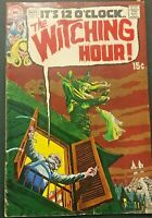 WITCHING HOUR. NO. 5. ITS MIDNIGHT. SILVER AGE. 1969. NICK CARDY-COVER. VG/FN