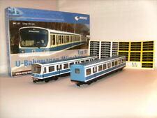90311 U-Bahn Set München H0 ohne Antrieb. 2 Wagen + Beschriftungssatz