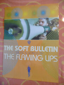 "VINTAGE FLAMING LIPS ""THE SOFT BULLETIN"" PROMO POSTER WARNER BROS 1999 18""x 24"""