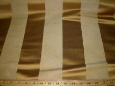 9 Yds~Stroheim Silk Satin Madsen Stripe Drapery Upholstery Fabric For Less