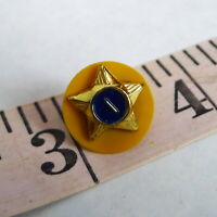 Webelos Boy Scouts Service Star 1 Year Pin Vintage 1970s BSA