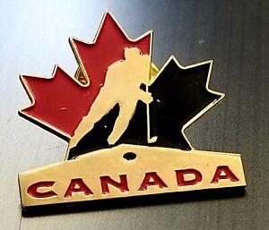 TEAM CANADA ICE HOCKEY MAPLE LEAF pin