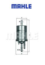 VW JETTA POLO TOURAN 1.0 1.2 1.4 1.6 1.8 2.0 2.5 TSI FSI / Fuel Filter MAHLE