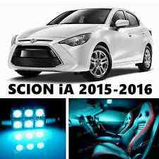 11pcs LED ICE Blue Light Interior Package Kit for SCION iA 2016