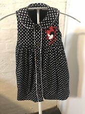 Disney At George Baby Girls Size 0-1 Black & White Minnie Mouse Dress New NWOT