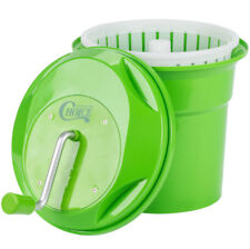 2.5 Gallon Manual Salad Spinner Lettuce Dryer Washer Large Commercial Restaurant