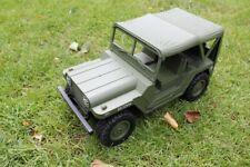 Amewi 22386 U.S. Militär Geländewagen 1:14 4WD RTR, Military grün Jeep