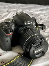 Nikon D D3400 24.2 MP Digital SLR Camera - Black w/ 18-55mm Lens