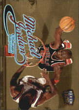 Michael Jordan Fleer Ultra Gold Medallion #85G 1998/99 NBA Basketball Card