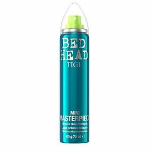 TIGI Bed Head Masterpiece Shiny Hair Spray for Strong Hold and Shine, 340 ml