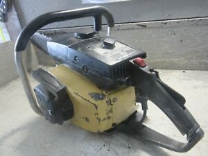 """VINTAGE COLLECTIBLE MCCULLOCH SUPER PRO 81 CHAINSAW WITH 20"""" BAR"""