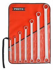 "Proto® J1100R 7 Piece Box End Wrench Set - 12 Points SAE: 5/16"" to 1-1/8"" Polish"