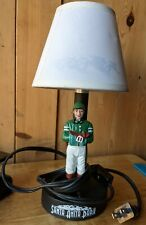 Santa Anita Park, Horse Racing Green Jockey Souvenir Lamp. Hi/Lo Control
