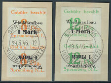 Lokalausgabe Spremberg Mi.Nr. 21-22 BK gestempelt Mi.Wert 160€ (5555)