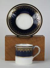 """ROYAL WORCESTER BONE CHINA """"gabinetto pezzo"""" Caffè Tazza e piattino (data 1915)"""