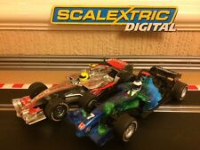 Scalextric Digital F1 McLaren MP4-21 & Honda Racing * Perfecto Estado *