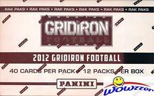 2012 Panini Gridiron Football MASSIVE Factory Sealed JUMBO FAT PACK BOX-480 Card