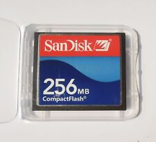 256MB Sandisk 256MB CF CompactFlash Card memory card 256MB SDCFB/J-256 Genuine