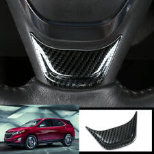 FOR Chevrolet Equinox 2018-2020 carbon fiber Steering wheel U type cover trim