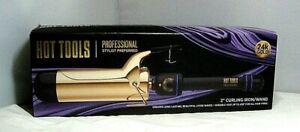 "Hot Tools Signature Series Gold Curling Wand- 2"""