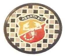 Set 4 Coprimozzi Coppette Borchie Fiat Abarth 55mm 3501900