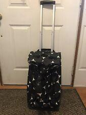 3-Thirty One Items Big Dot B&W,Weekender Bag,Wheel Up Roller Bag & Memry Pouches